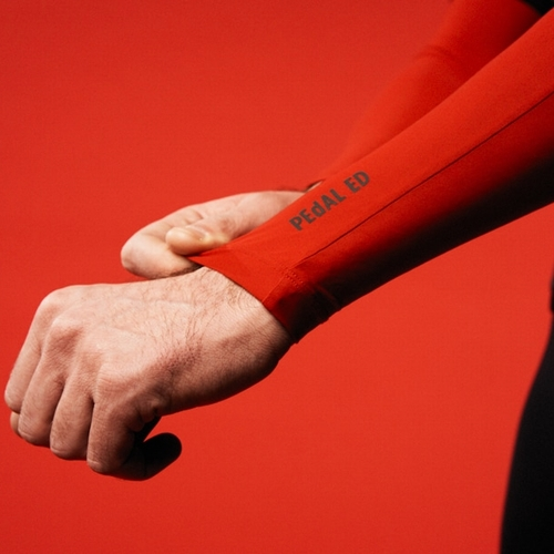 HEIKO ARM WARMERS(RED/BLUE)